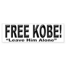Free Kobe Bumper Bumper Sticker