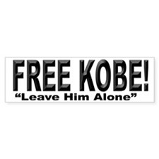 Free Kobe Bumper Car Sticker