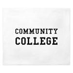 Community College King Duvet