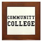 Community College Framed Tile
