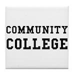 Community College Tile Coaster