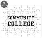 Community College Puzzle