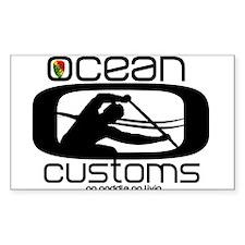 Ocean Customs/OC6 Decal