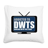Dancing with the stars Square Canvas Pillows