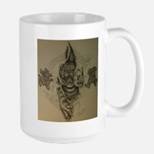 Hardcore Tiger! Large Mug