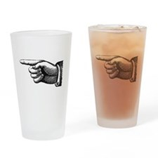This Way Drinking Glass