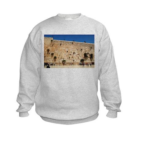 Western Wall (Kotel), Jerusalem, Israel Kids Sweat