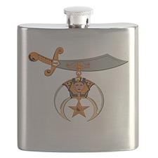Shriners Flask