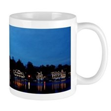 Boathouse Row, Nighttime Panoramic Mug