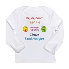 dont feed me Long Sleeve T-Shirt