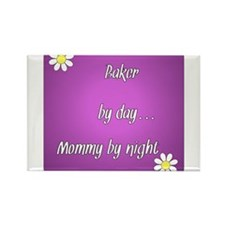 Baker by day Mommy by night Rectangle Magnet