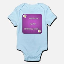 Beautician by day Mommy by night Infant Bodysuit