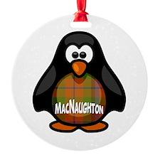 MacNaughton Tartan Penguin Ornament