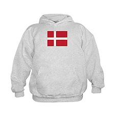 Denmark Flag Hoodie
