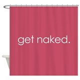 Get naked Shower Curtains