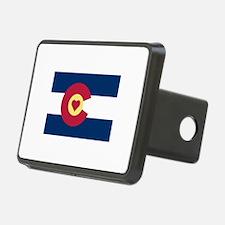 I Love Colorado Hitch Cover