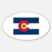I Love Colorado Decal