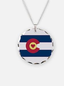 I Love Colorado Necklace