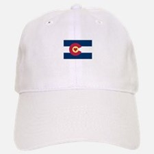 I Love Colorado Baseball Baseball Cap