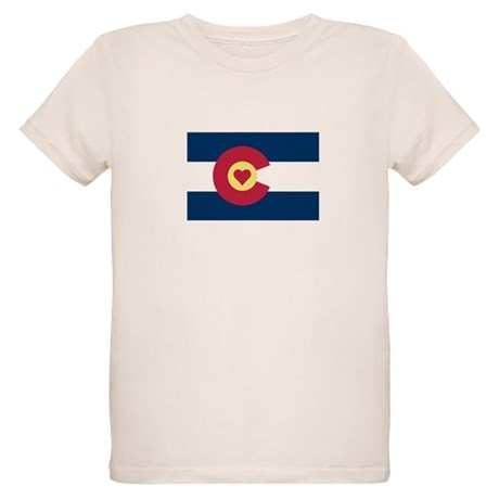 I Love Colorado Organic Kids T-Shirt