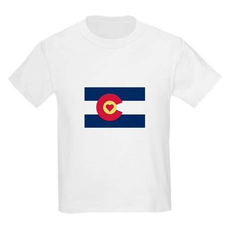 I Love Colorado Kids Light T-Shirt
