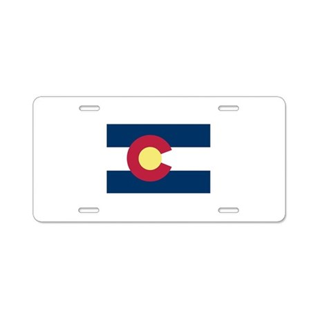 I Love Colorado Aluminum License Plate
