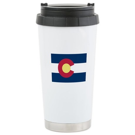 I Love Colorado Stainless Steel Travel Mug