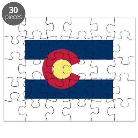 I Love Colorado Puzzle