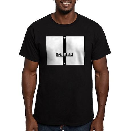 CREEP Men's Fitted T-Shirt (dark)