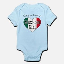 Everyone Loves Mexican Girl Infant Bodysuit