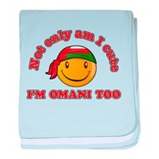 Cute and Omani baby blanket