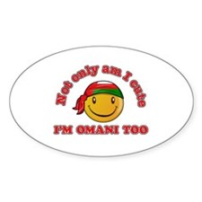 Cute and Omani Decal