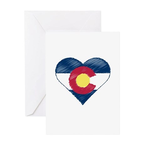 I Love Colorado Greeting Card