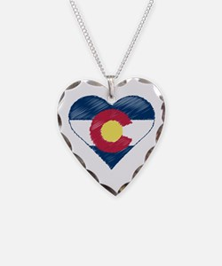 I Love Colorado Necklace