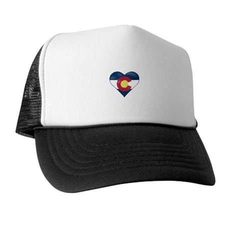 I Love Colorado Trucker Hat