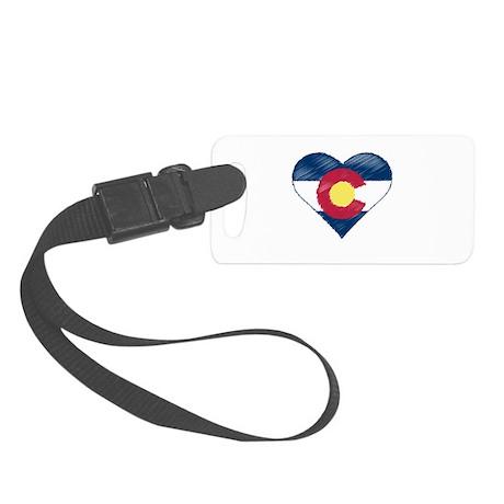 I Love Colorado Small Luggage Tag