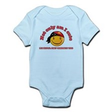Cute and Papua New Guineas Infant Bodysuit