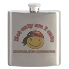 Cute and Papua New Guineas Flask