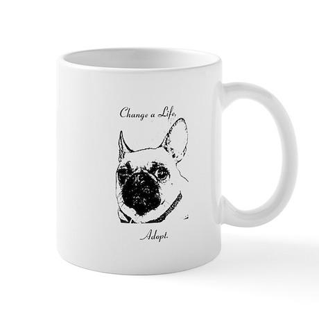 """Change a Life, Adopt"" Dunkie Mug"