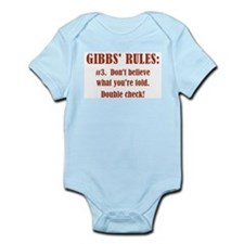 GIBBS' RULE #3 Infant Bodysuit