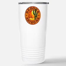 Sedona Desert Circle Stainless Steel Travel Mug
