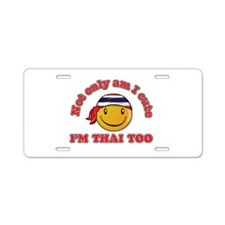 Cute and Thai Aluminum License Plate