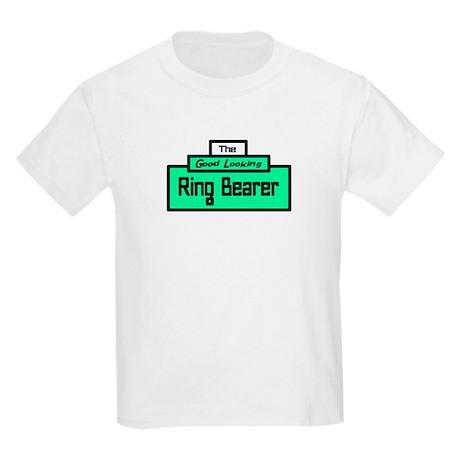 Ring Bearer/Groom-design 3 Kids Light T-Shirt