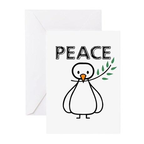 White Dove Peace Greeting Cards (Pk of 10)