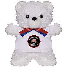 Black Shorin-Ryu Logo Teddy Bear