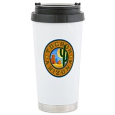 Tucson Desert Circle Travel Mug