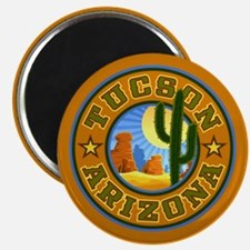 Tucson Desert Circle Magnet
