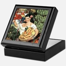 Vintage Mexico Keepsake Box