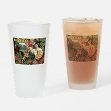 Vintage Mexico Drinking Glass