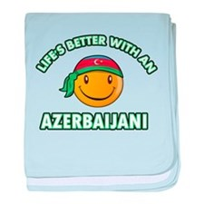 Lifes better with an Azerbaijani baby blanket